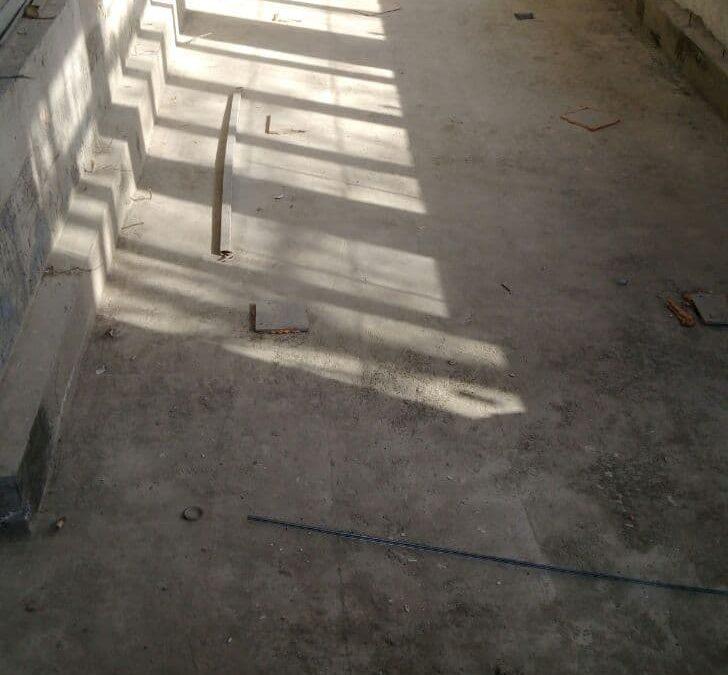 Инъецирование цементных составов.
