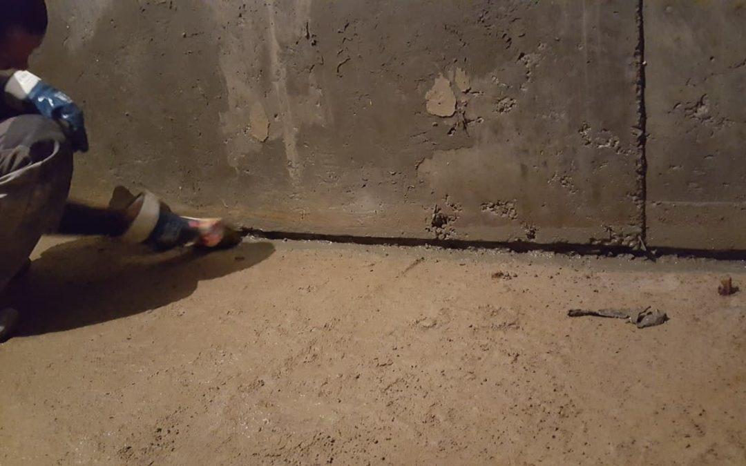 Защита швов бетонирования.