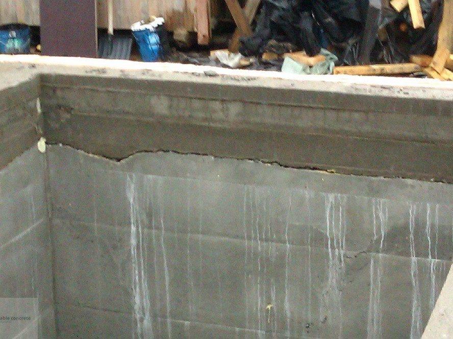 Защита швов бетонирования